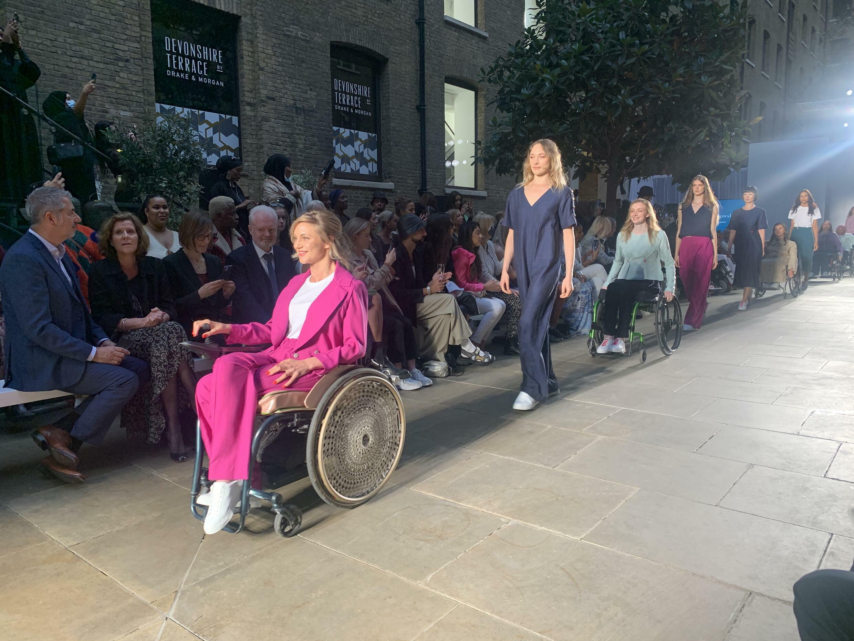 fashion week londre handicap