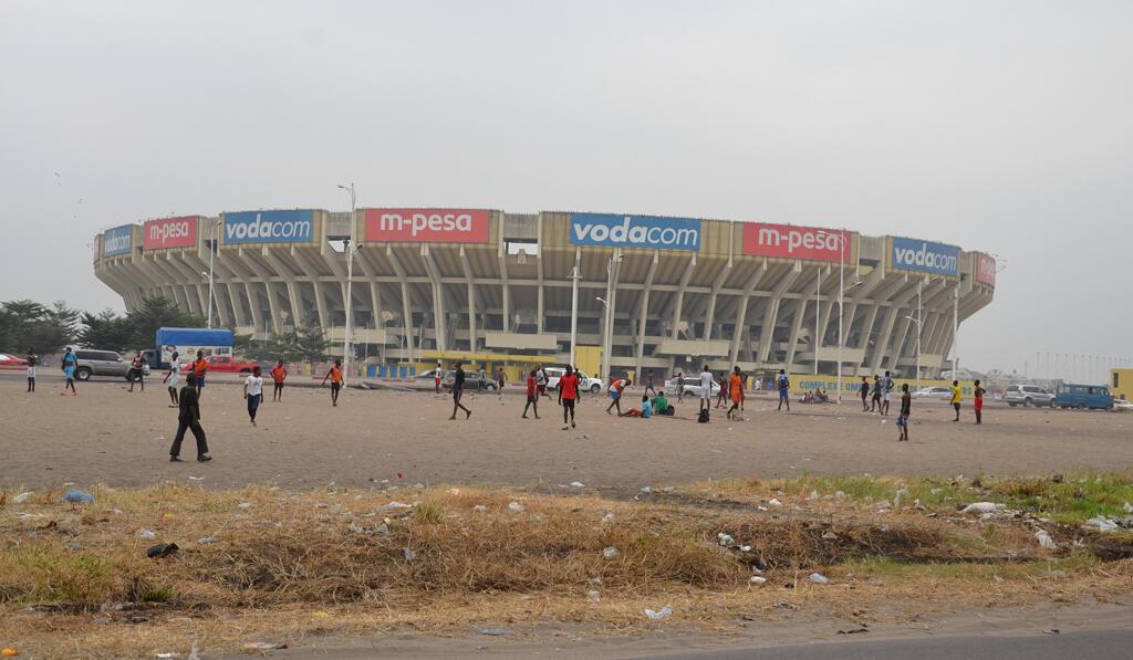 Uwanja wa soka wa Martyrs jijini Kinshasa moja ya viwanja vya mpira ambako zinachezwa mechi mbalimbali za kimataifa..