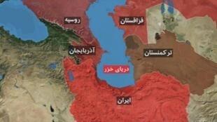 دریای خزر - کاسپیان - را به نامهای دیگر، از جمله دریای گرگان، مازندران، جِیلان، هیرکان و دریای ساری هم خواندهاند
