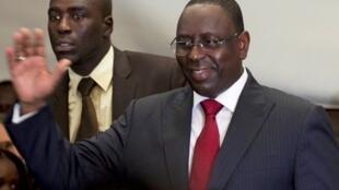 Macky Sall, Senegal's new president