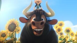 Carlos Saldanha concorre com a história de Ferdinando, um touro bonzinho.