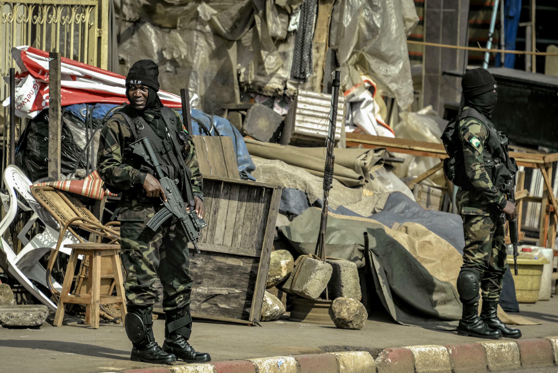 Cameroun - BIR - soldat - militaire soldier