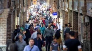 Grand Bazaar en Teherán, Irán, el 23 de junio de 2019.