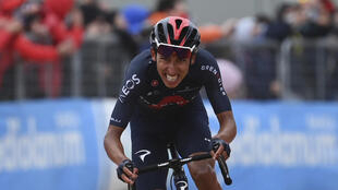 PHOTO Egan Bernal Giro 2021 - 16 mai 2021
