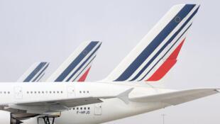 Air France at Paris Roissy-Charles-de-Gaulle airport
