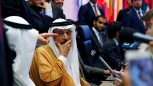 Министр энергетики Саудовской Аравии Халид аль-Фалих в Вене, 1 июля 2019 г.