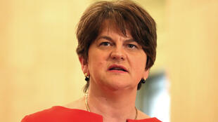 Arlene Foster first minister of Northern Ireland, 2020