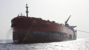 Le tanker Seadelta, aux abords de Ras Lanouf, le 19 septembre 2016.