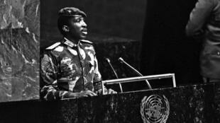 Image tirée du documentaire Capitaine Thomas Sankara.
