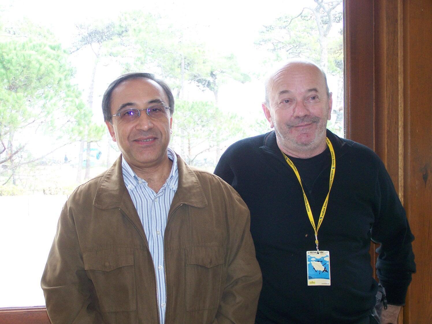 Albert Duble et Adel Mourtada