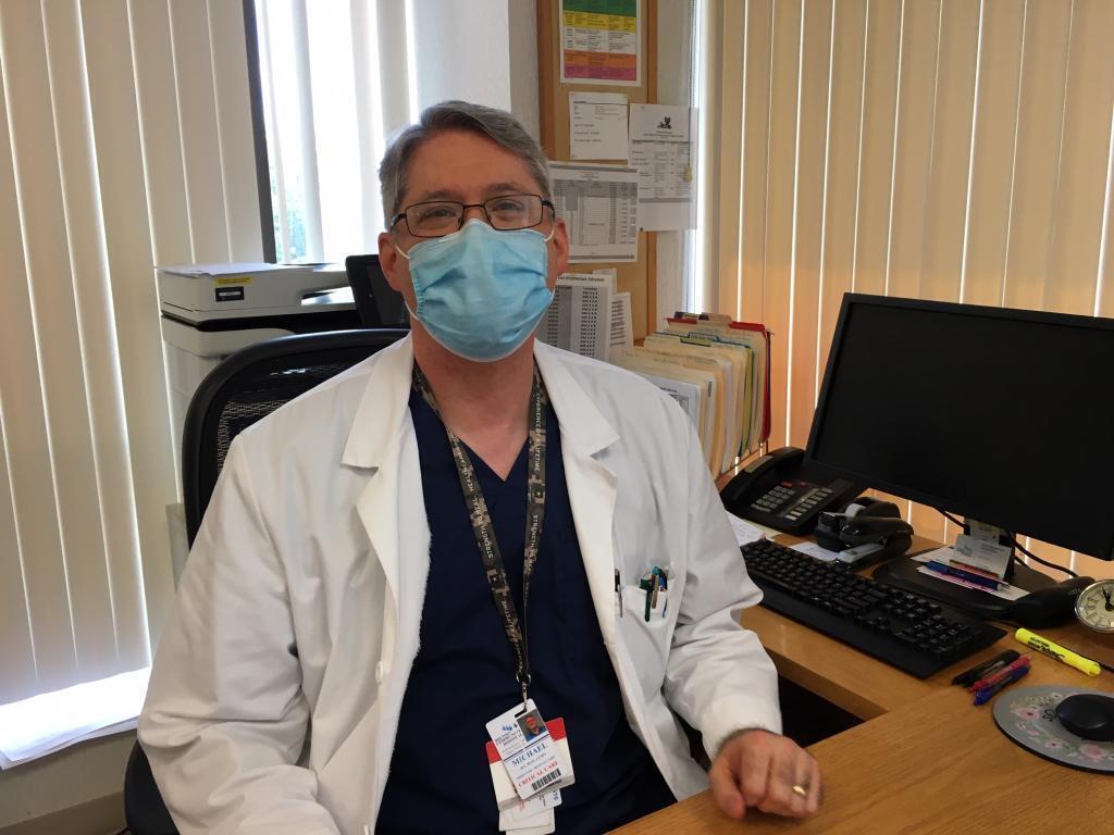 Michael Cooper, chef infirmier au Doctor's community hospital de Lanham.
