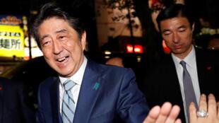 Le Premier ministre japonnais, Shinzō Abe.