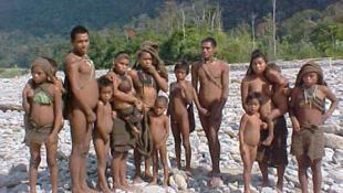 Tribu aislada y no contactada, en Perú.