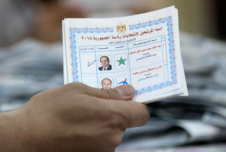عبدالفتاح السیسی، برای دومین بار به عنوان رییس جمهوری مصر برگزیده شد.