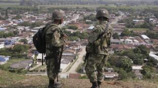 Des opérations militaires étaient toujours en cours mardi matin pour sécuriser la région de Corinto.