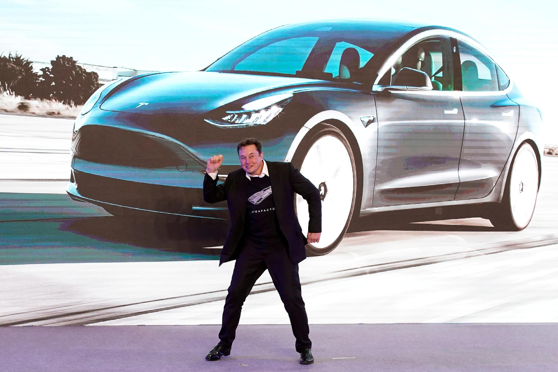 特斯拉公司CEO马斯克资料图片