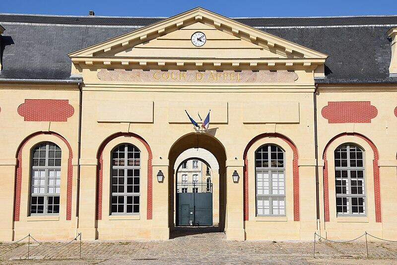 Versailles cour d'appel