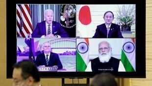 quad印太四國視頻峰會 2021年3月12日