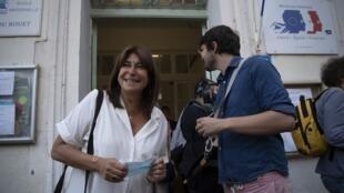 La tête de liste du Printemps Marseillais, Michèle Rubiola, est arrivée en tête des élections municipales à Marseille mais rien n'assure qu'elle sera déignée maire de la ville.