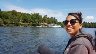 Coraline, étudiante en kinésithérapie à Poitiers.