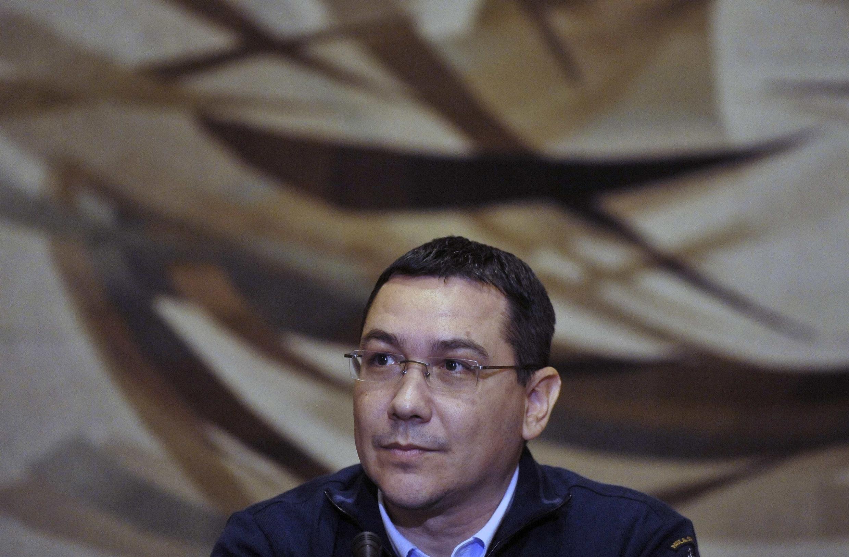 លោកនាយករដ្ឋមន្រ្តីនៃប្រទេសរូម៉ានីវ៉ិចទ័រ ប៉ុងតា (Victor Ponta)