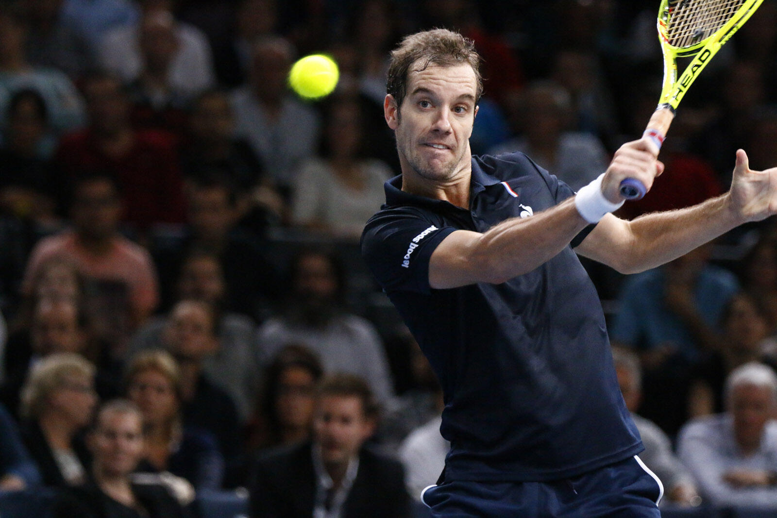 Richard Gasquet has never been past the last 16 in 14 visits to the Australian Open since 2003.