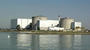 費瑟南(Fessenheim)核電站。