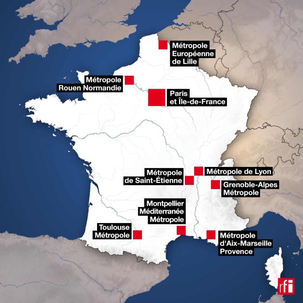 Un couvre-feu de 21h à 6h entrera en vigueur samedi 17 octobre à partir de minuit en Ile-de-France et huit métropoles.