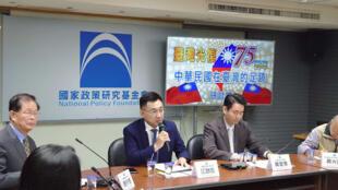 中國國民黨主席江啟臣參加相關研討會資料圖片