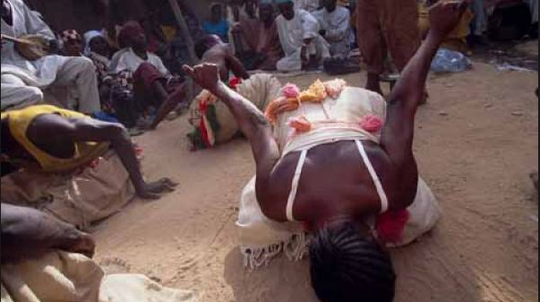 Wasu daga cikin masu hawan bori a kasar Hausa
