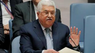 محمود عباس در نشست ویژه شورای امنیت سازمان ملل متحد- سهشنبه اول اسفند/بیستم فوریه