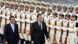 西班牙首相拉霍伊首次访华,周四在北京会见中国总理李克强 2014 09 25