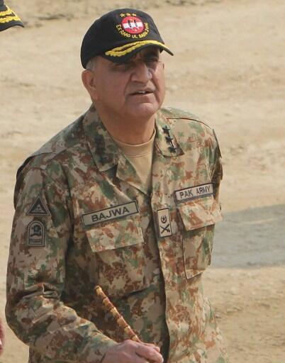 巴基斯坦新任總參謀長:巴傑瓦將軍