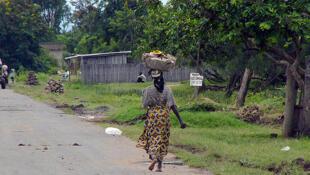 Sur la route de Gatumba, située à 13 km au nord-est de la capitale burundaise.
