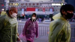 Một cách phòng chống virus corona. Ảnh minh họa, chụp tại Thượng Hải, Trung Quốc, ngày 05/03/2020.