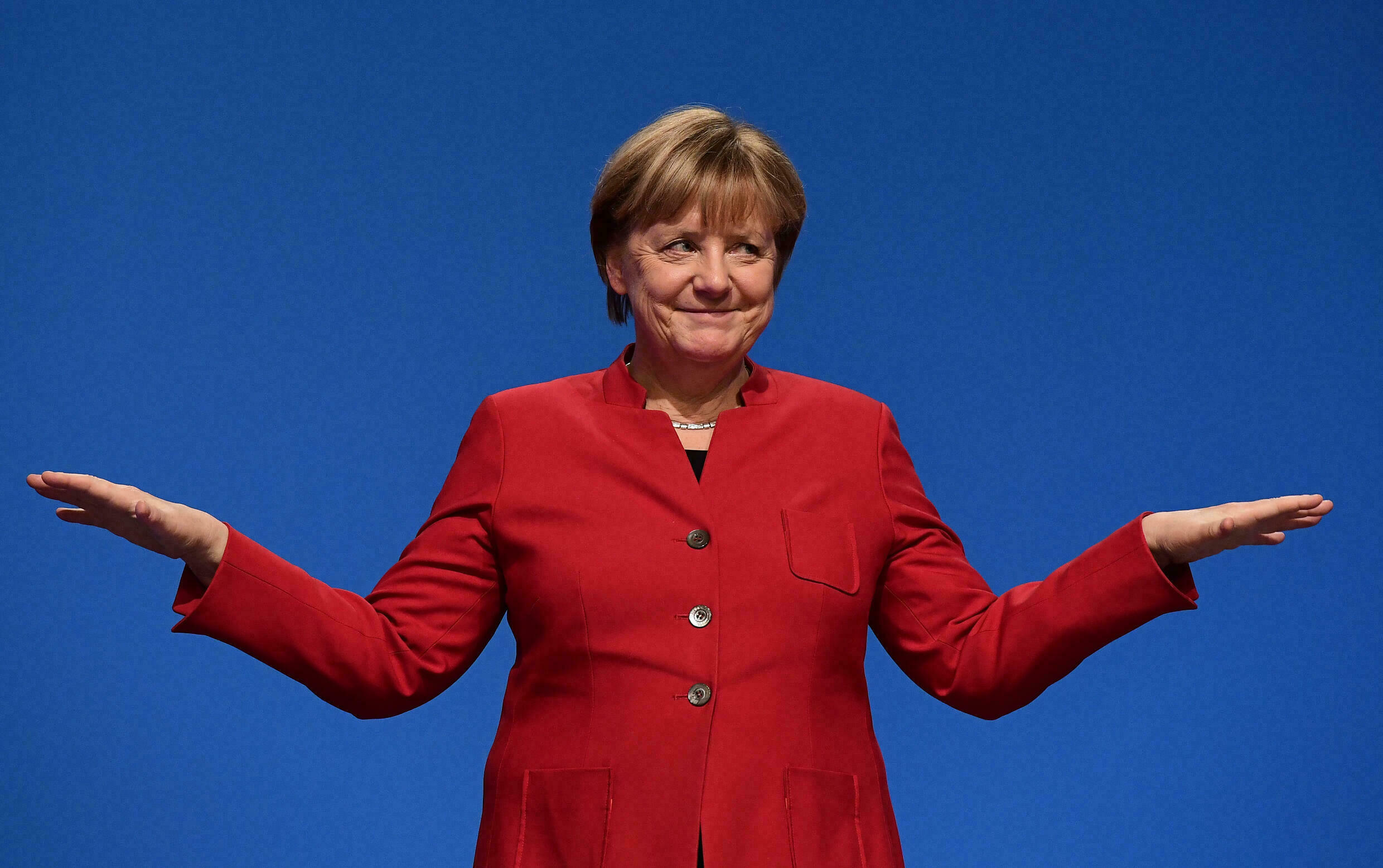 Merkel recently admitted she was 'shy' about the feminist label