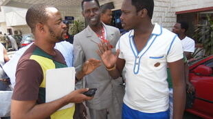Jaruman fina-finan Hausa na Kannywood Ali Nuhu, Sani Danja da sauransu a birnin Kano Nigeria