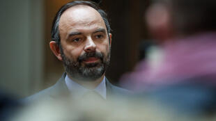 French prime minister Edouard Philippe photographe in January, 2019.