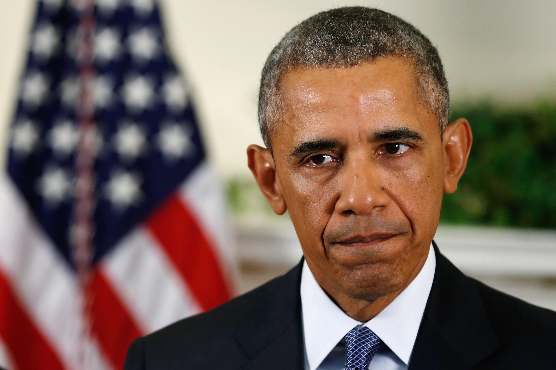 Tổng thống Mỹ Barack Obama tại Washington, ngày 15/10/2015.