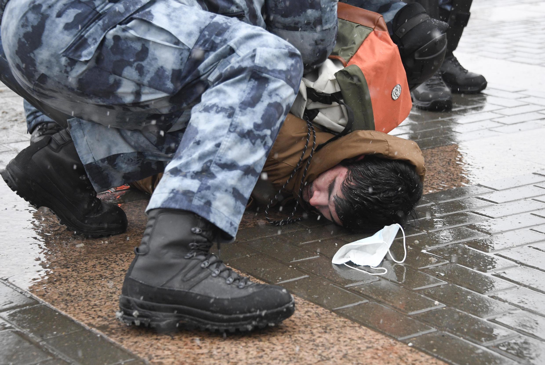 Image moscou arrestation