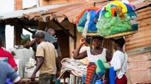 Marché de Lomé, Togo.