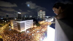 La manifestation du 6 août 2011 à Tel-Aviv.