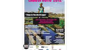 L'affiche du Festival annuel Lagos Photo - Edition 2012 .
