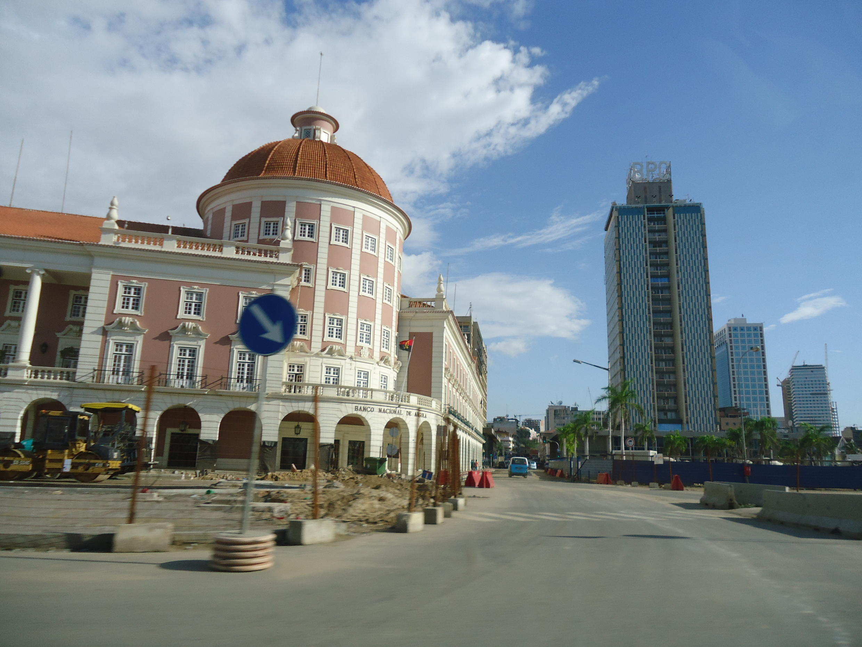Luanda, capital de Angola.