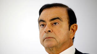 کارلوس غُصن (گون)، مدیرعامل ائتلاف صنعتی رنو- نیسان – میتسوبیشی – پاریس ٣ اکتبر ٢٠١٨