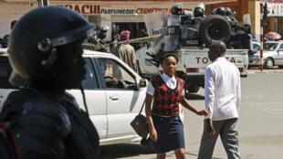 Policiers Lubumbashi