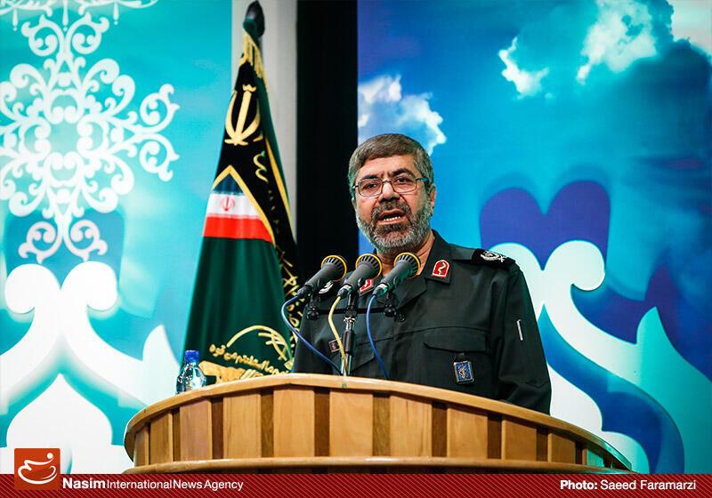 سردار رمضان شریف، سخنگو و معاون روابط عمومی سپاه پاسداران ایران