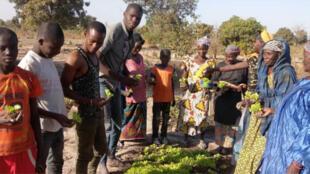 Amadou Alpha Bah (à gauche).