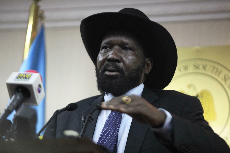 Rais wa Sudani Kusini, Salva Kiir.