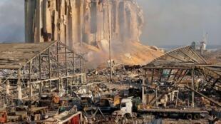 Liban - Port de Beyrouth - explosion - nitrate d'ammonium
